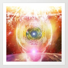 Consciousness Arising - 3/3 Art Print