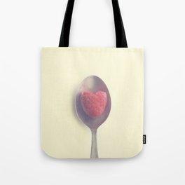 Raspberry love Tote Bag