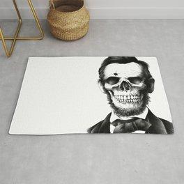 Lincoln Skull Rug