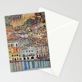 "Gustav Klimt ""Malcesine on Lake Garda"" Stationery Cards"