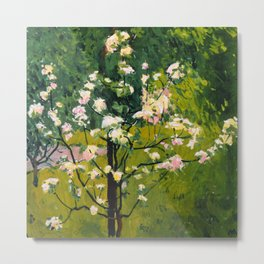 "Koloman (Kolo) Moser ""Flowering tree"" Metal Print"