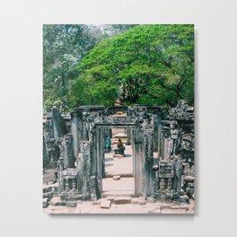 Temple View Metal Print