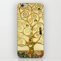 gustav klimt iPhone & iPod Skins featuring Gustav Klimt The Tree Of Life  by Art Gallery