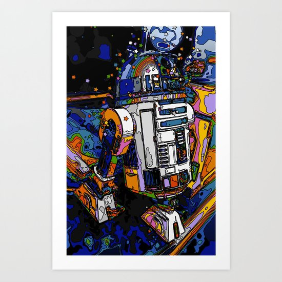 R2-DELIC Art Print