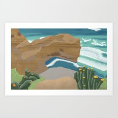 Edge of Oz #4 Art Print