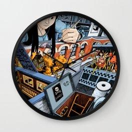 Desk Wall Clock