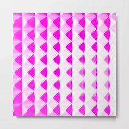 Pink Pyramids Metal Print