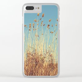 Amber Waves of Grain Clear iPhone Case