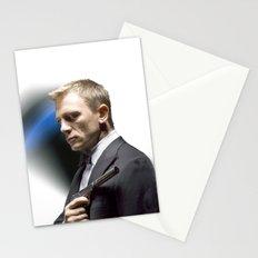 Daniel Craig as James Bond Stationery Cards