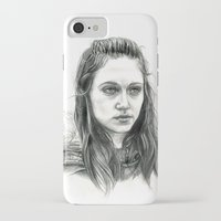 jem iPhone & iPod Cases featuring Jem Walker by laya rose