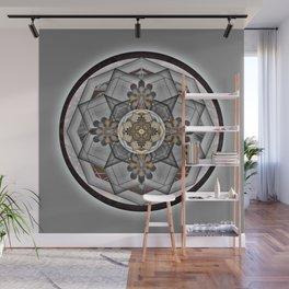 Moment of Elemental Delight Sacred Geometry Mandala for Balance Wall Mural