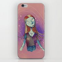 nightmare before christmas iPhone & iPod Skins featuring Sally - Nightmare before christmas by KanaHyde