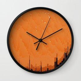 marmalade city Wall Clock