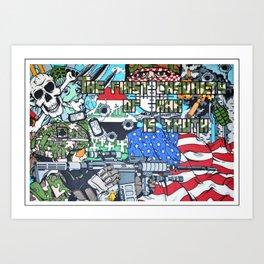 Nation United Art Print