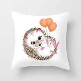 Porcupine Throw Pillow