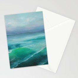 Hazy Lake Stationery Cards
