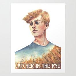 Catcher In The Rye Art Print