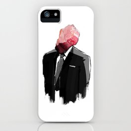 Char Siu Head (roast pork in suit) iPhone Case