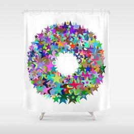 720 stars Shower Curtain
