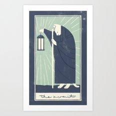 The Hermit Art Print