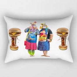 Burger Bombs Rectangular Pillow