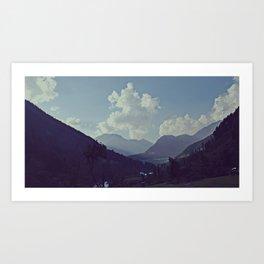 Kashmir Art Print