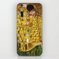 klimt iPhone & iPod Skins featuring My Klimt by Müge Başak