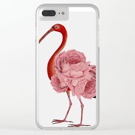 flagon,fling,flan,flamingo Clear iPhone Case
