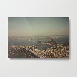 Rio Vintage Metal Print