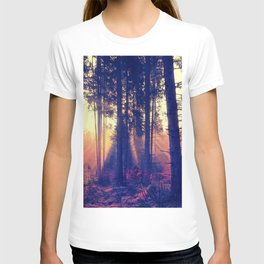 one morning in the middle of the forest T-shirt