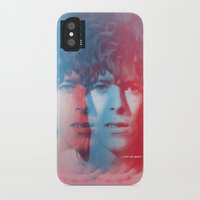 bowie iPhone & iPod Cases featuring Bowie by Astro