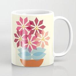 Poinsettia Pot Coffee Mug