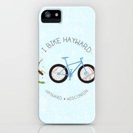 I Bike Hayward!! iPhone Case