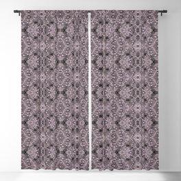 Wool Lace Bohemian Pattern Fiber Texture Taupe Mauve Blackout Curtain