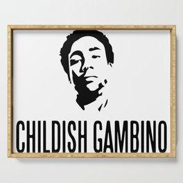 Childish Gambino Serving Tray