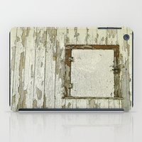 cabin iPad Cases featuring Yellow Cabin by Nancy Smith