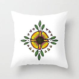 Grow Love Throw Pillow