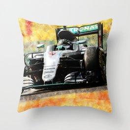 Nico Rosberg 2016 Throw Pillow