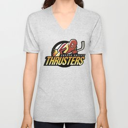 Copper Valley Thrusters Unisex V-Neck