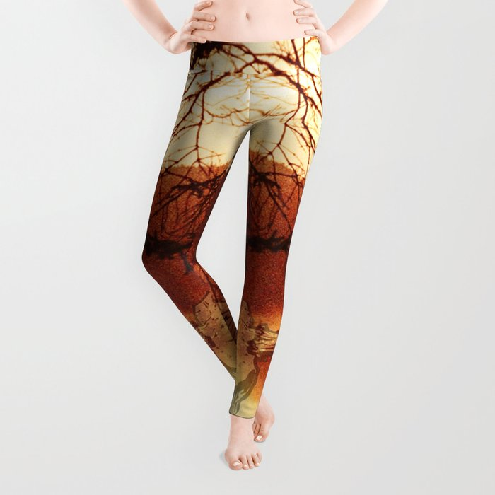 Black Metal SpiriT of the LakE / Moose Skull Leggings