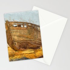 Painted Boat Dungeness Stationery Cards