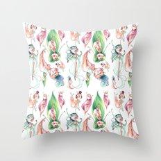 Pixie Pattern Throw Pillow
