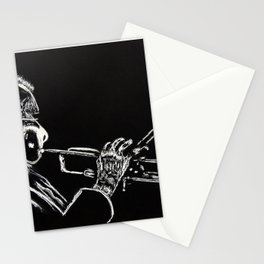 Dizzy Be Bop Stationery Cards