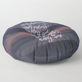 Reckless Love Floor Pillow