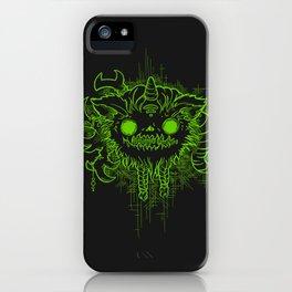 Antler Monster - Neon iPhone Case