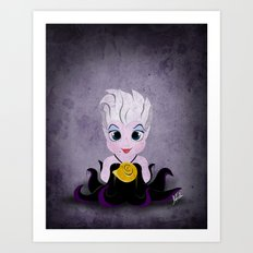 Villain Kids, Series 1 - Ursula Art Print
