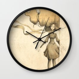 long story Wall Clock