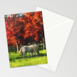 White Horse Lipizaners - Slovenia Stationery Cards
