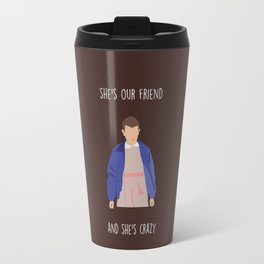 El is crazy Travel Mug