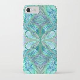 Abalone Shell Nautilus Kalidescope iPhone Case